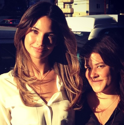 Lily Aldridge—whom Tracey's known since she was a little girl—is a prime example of gorgeous ombré, as well one of her lifetime clients.