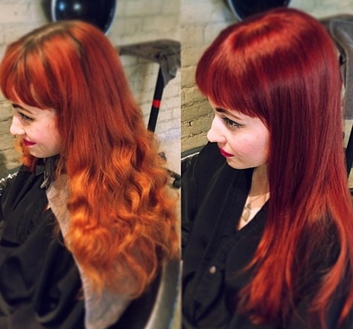 Katie Stevens Red Hair