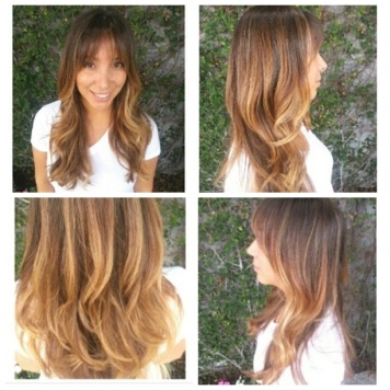 Color by @lizyjung, cut & style by @stizzyho